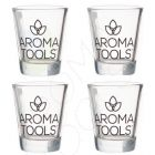 AromaTools Branded Oil Shot Glass (Pack of 4)