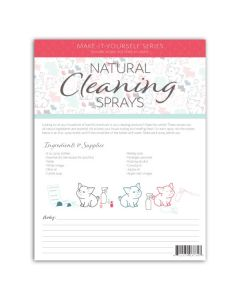 """Cleaning Sprays"" Make-It-Yourself Recipes and Labels"