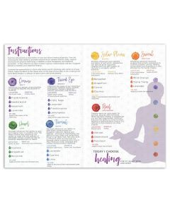 "My Makes ""Chakra Energy Healing"" Recipes and Label Set"