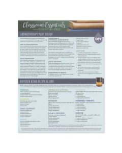 """Classroom Essentials with Essential Oils"" Recipe Tear Pad (25 Sheets)"