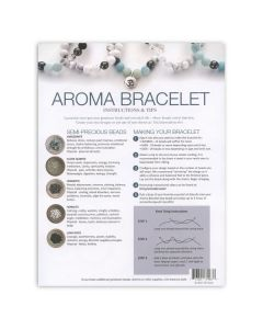 Amazonite Aroma Bracelet Make & Take Workshop Kit