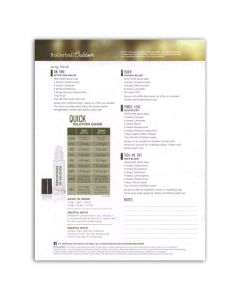"""Rollerball™ """"Outdoor"""" Recipe Sheets (Pack of 25)"""