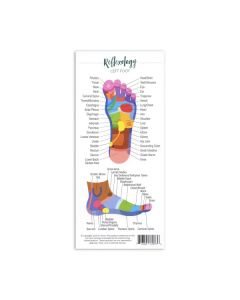 """Reflexology"" Reference Cards (Pack of 25)"
