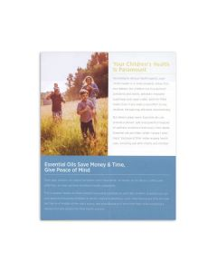 """""""Essential Oils for Infants and Children"""" Brochure (Pack of 20)"""