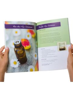 Hip Guide to a Healthy & Abundant Life Using Essential Oils, by Hayley Hobson