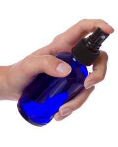 Misting Spray Tops for 2, 4, and 8 oz. Plastic Bottles and 4 oz. Blue Glass Bottles