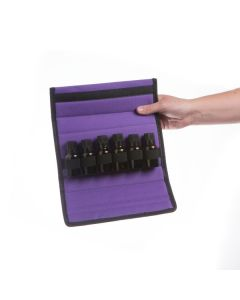 Soft Folding Carrying Case for 15 ml Vials (Holds 6 Vials)