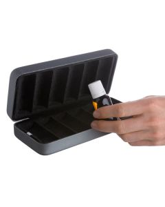 Luxury Hard Shell Carrying Case (Holds 6 Vials)
