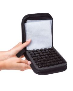 Leopard Print Small Essential Oil Case (Holds 49 Sample Vials)