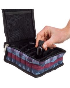 Large, Canvas, 15 ml Carrying Case (Holds 30 Vials)