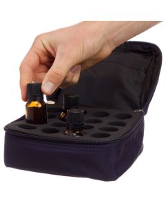 Microfiber 15 ml Carrying Case (Holds 16 Vials)