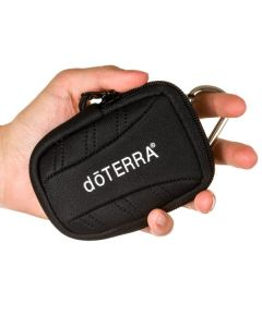 doTERRA Branded Key Chain Case (Holds 15 ml or Roll-on Vials)