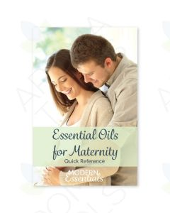 """""""Essential Oils for Maternity: Quick Reference"""" Brochure"""