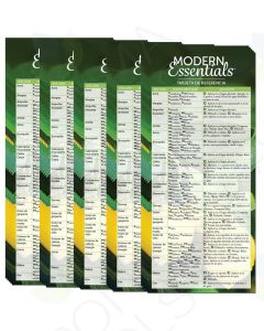 Spanish Modern Essentials Reference Cards, 12th Edition (Pack of 25)