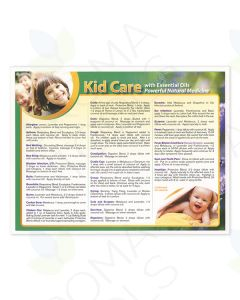 """Kid Care with Essential Oils"" Chart"
