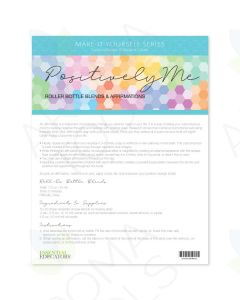 """Positively Me"" Make-It-Yourself Recipes and Labels"