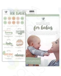 "My Makes ""For Babies"" Recipes and Label Set"