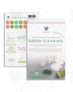 """My Makes """"Green Cleaning"""" Recipes and Label Set"""