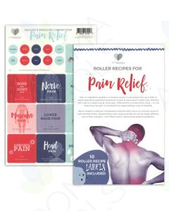 """My Makes """"Pain Relief"""" Recipes and Label Set"""