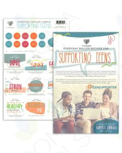 "My Makes ""Supporting Teens"" Recipes and Label Set"