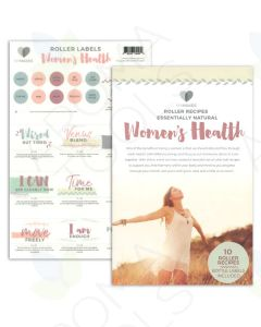 "My Makes ""Women's Health"" Recipes and Label Set"