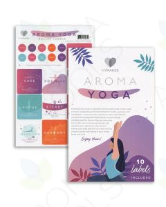 "My Makes ""Aroma Yoga"" Recipes and Label Set"