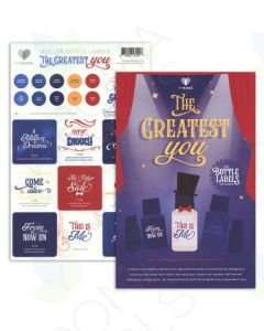 "My Makes ""The Greatest You"" Recipes and Label Set"
