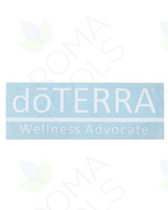 "Large doTERRA—Wellness Advocate Vinyl Sign (6-1/4"" x 20-3/4"")"