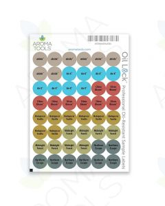 Oil Lock Circle Labels for 2021 Oils (Sheet of 48)