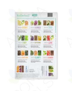 "Rollerball ""Mood Series"" Assorted Label Set (Sheet of 11)"