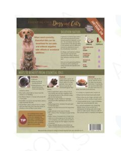 "Fido and Felix: ""Essential Oils for Dogs and Cats"" Tear Pad (25 Sheets)"