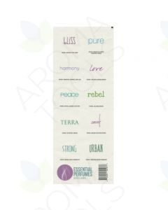 """Essential Perfumes"" Labels (Sheet of 10)"