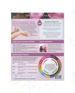 """Essential Oil Perfumes"" Recipe Sheet Tear Pad (25 Sheets)"