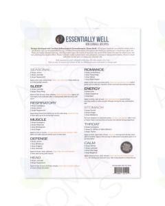 """""""Essentially Well"""" Recipe Sheets (10 Sheets)"""