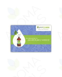 """Green Cleaning"" Postcard Invitations (Pack of 20)"