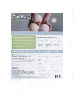 """Bath Bombs Using Essential Oils"" Recipe Tear Pad (25 Sheets)"