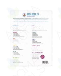 """Baby Bottles"" Recipe Sheets (Pack of 10)"