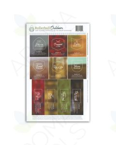 "Rollerball ""Outdoor"" Labels (Sheet of 10)"
