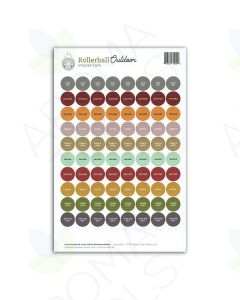"""Rollerball™ """"Outdoor"""" Lid Stickers (Sheet of 88)"""