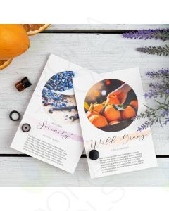 Wild Orange Show and Share Digital Highlight Card