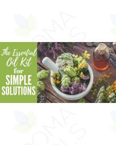 """""""The Essential Oil Kit for Simple Solutions"""" Essential Oil Academy Digital Online Class"""
