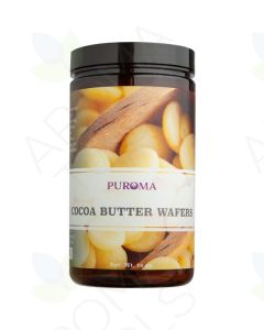 Organic Refined Cocoa Butter Wafers (16 oz.)