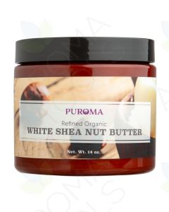 Organic Refined White Shea Butter (14 oz.)