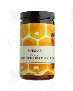 Pure Organic Yellow Beeswax Pellets (1 lb.)