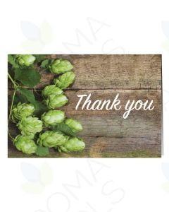 """""""Thank You"""" Floral Greeting Cards (Pack of 12)"""