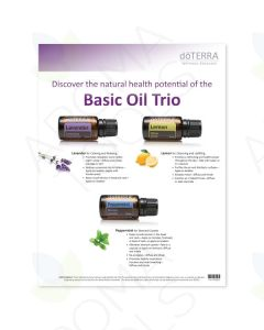 Basic Oil Trio/On Guard Tear Pad (50 Sheets)