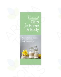 """Natural Gifts for Home and Body"" Brochure, by Joanna Albrecht (Pack of 25)"