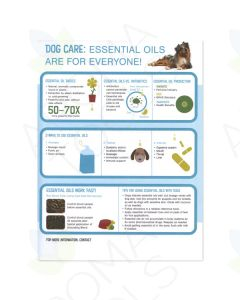 Essential Oils for Dog Care Tear Pad (50 Sheets)
