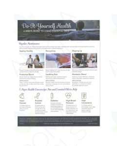 """Do-It-Yourself Health: A Man's Guide to Essential Oils"" Tear Pad (50 Sheets)"