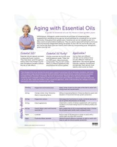 """Aging with Essential Oils"" Tear Pad (50 Sheets)"